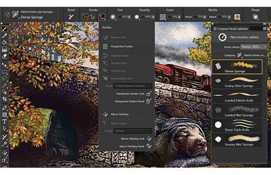 Corel Painter v2020 win和mac版本 素描绘图软件汉化直装版-狗破解-Go破解 GoPoJie.COM