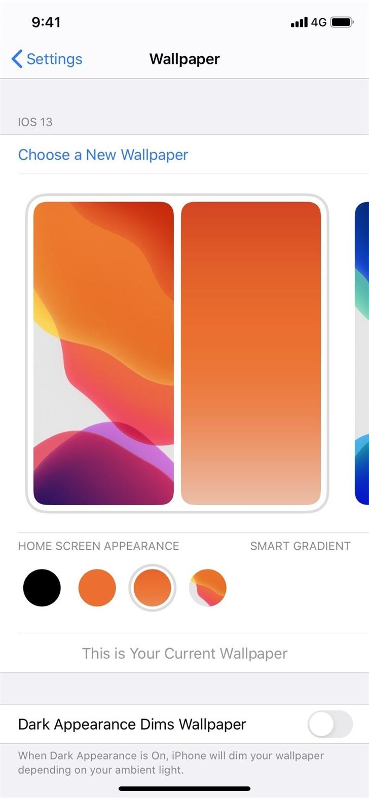 苹果iOS 14系统面板截图曝光:加入全新墙纸设置,或加入主屏小部件-狗破解-Go破解 GoPoJie.COM