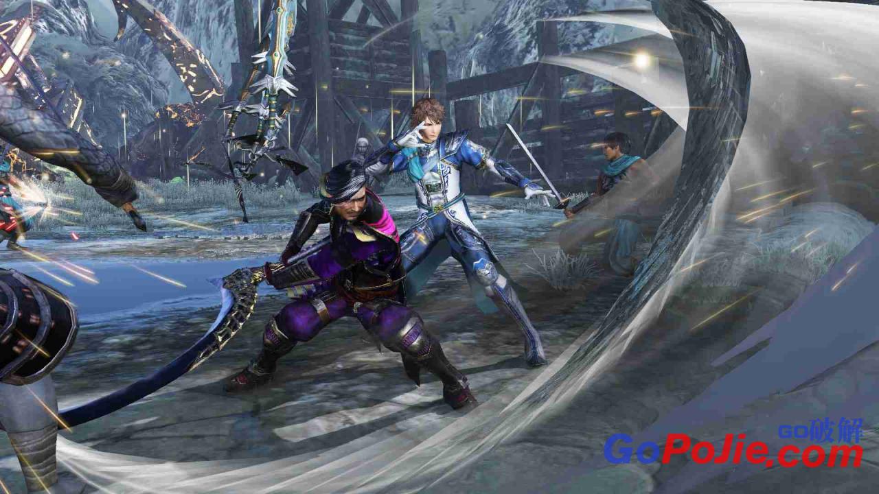 《无双大蛇3:终极版》豪华版1.08DLC整合 硬盘安装-狗破解-Go破解 GoPoJie.COM