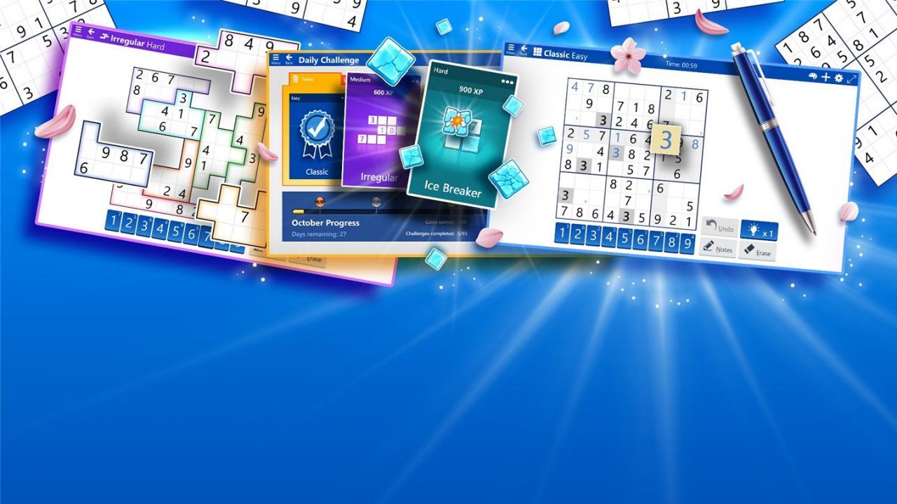 微软 Win10 数独 2.0 发布:六个难度级别