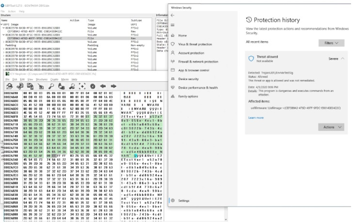 微软Win10 Defender杀毒软件小改变:新增UEFI扫描器-狗破解-Go破解|GoPoJie.COM