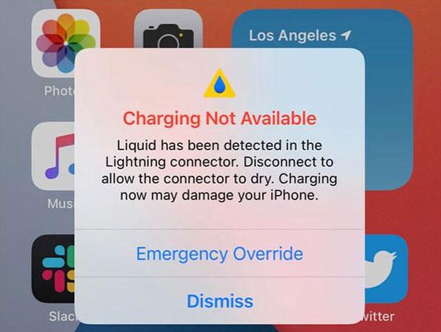 充电端口潮湿自动禁用充电?iOS 14为你手机提供安全保障-狗破解-Go破解|GoPoJie.COM