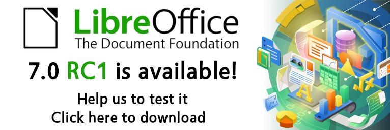 LibreOffice 7.0 RC1 发布