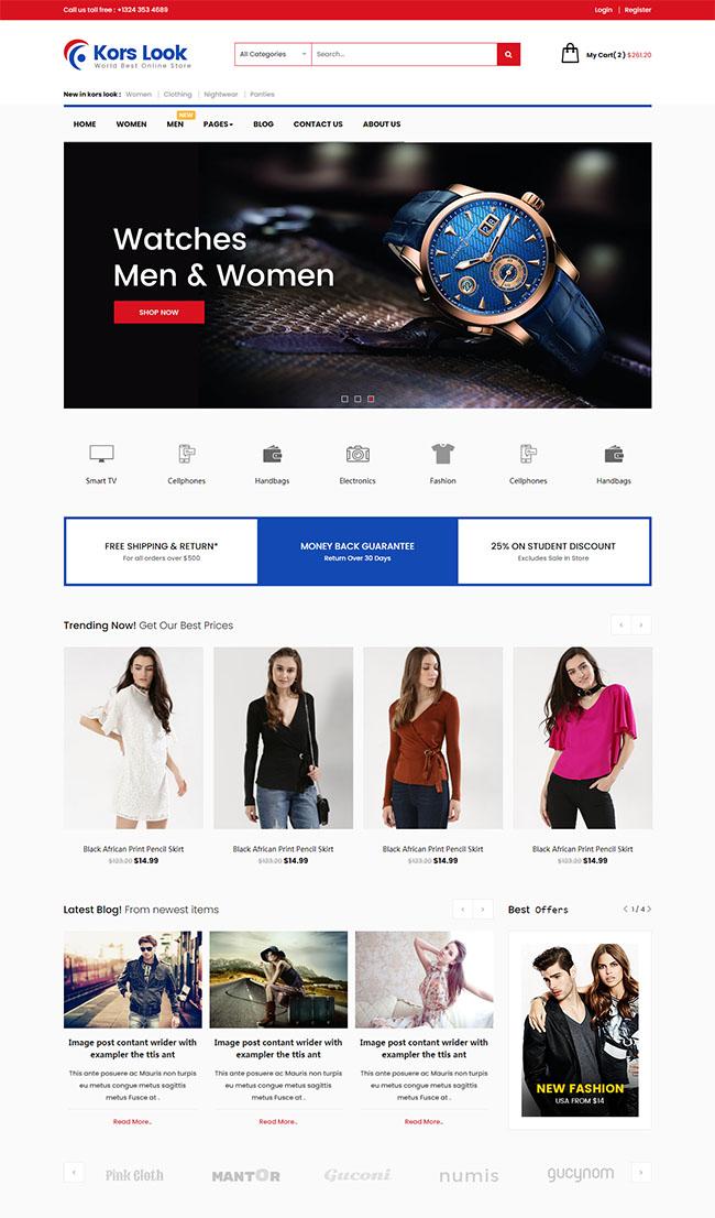 服装电子商务公司网站模板7291745-狗破解-Go破解|GoPoJie.COM