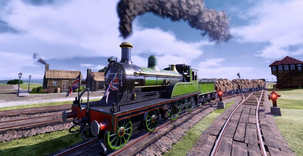 Epic 喜加二 :《铁路帝国》《那里水似美酒》免费领取