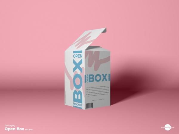纸盒包装样机PSD模板202