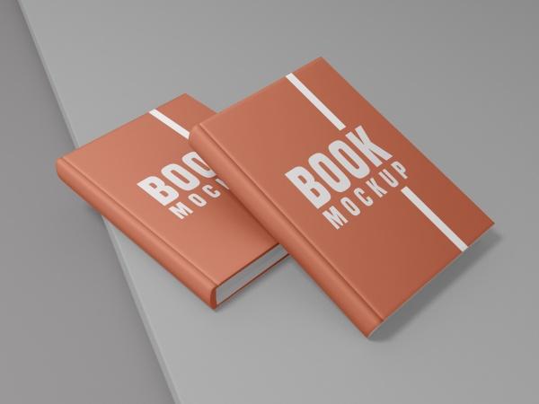 书籍封面样机模板205