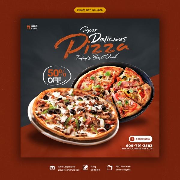 披萨宣传单源文件下载316