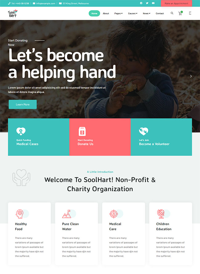 公益捐款慈善平台网站模板403
