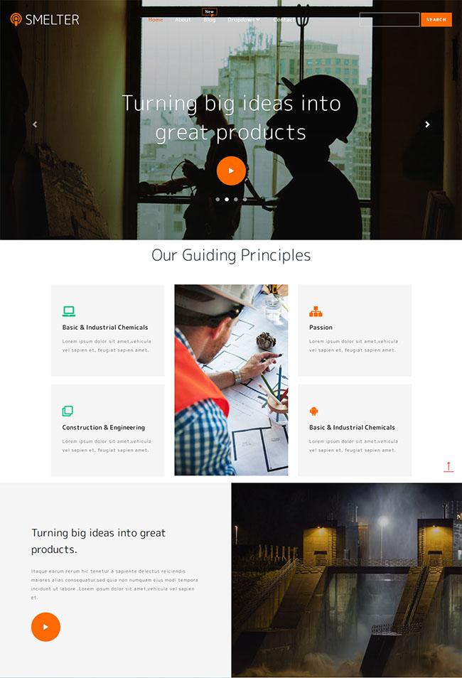 建筑工程图纸绘制网站模板406