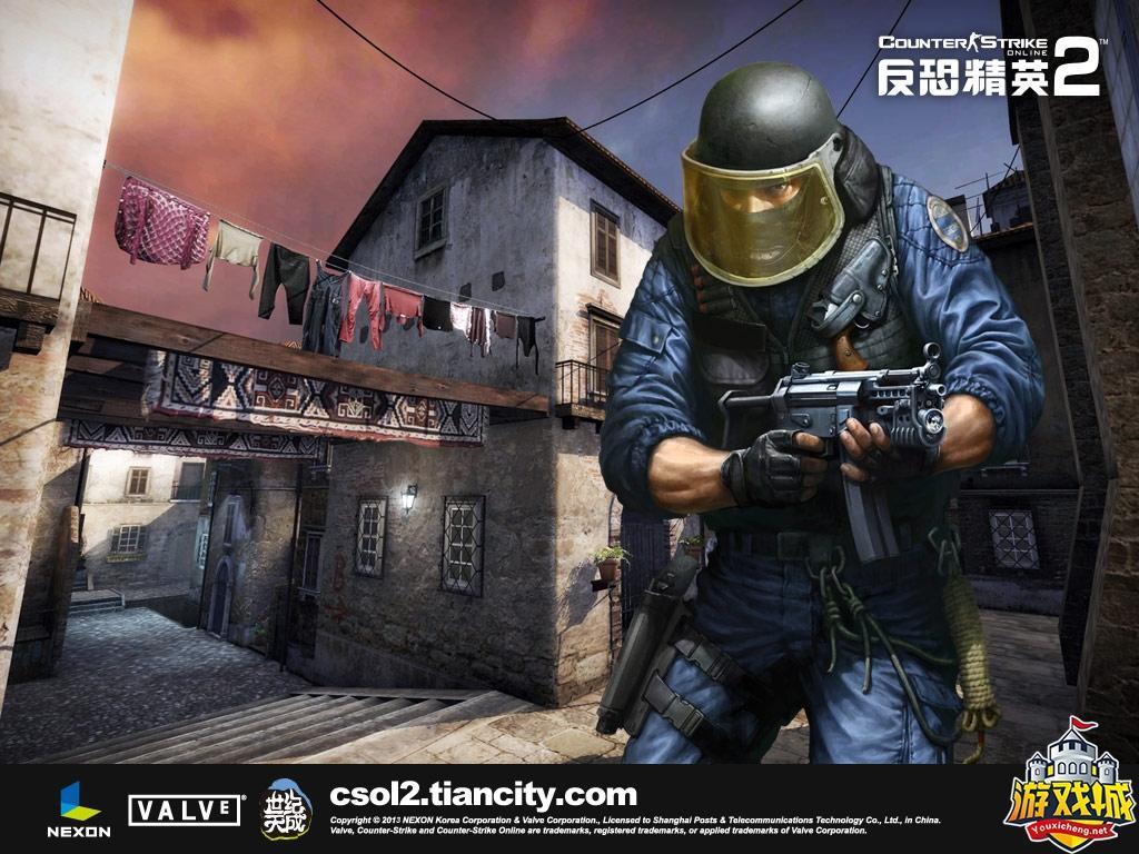 【反恐精英CSOL2单机版】CSOL2全模式机器人bot全装备生化捉迷藏灾变对战游戏