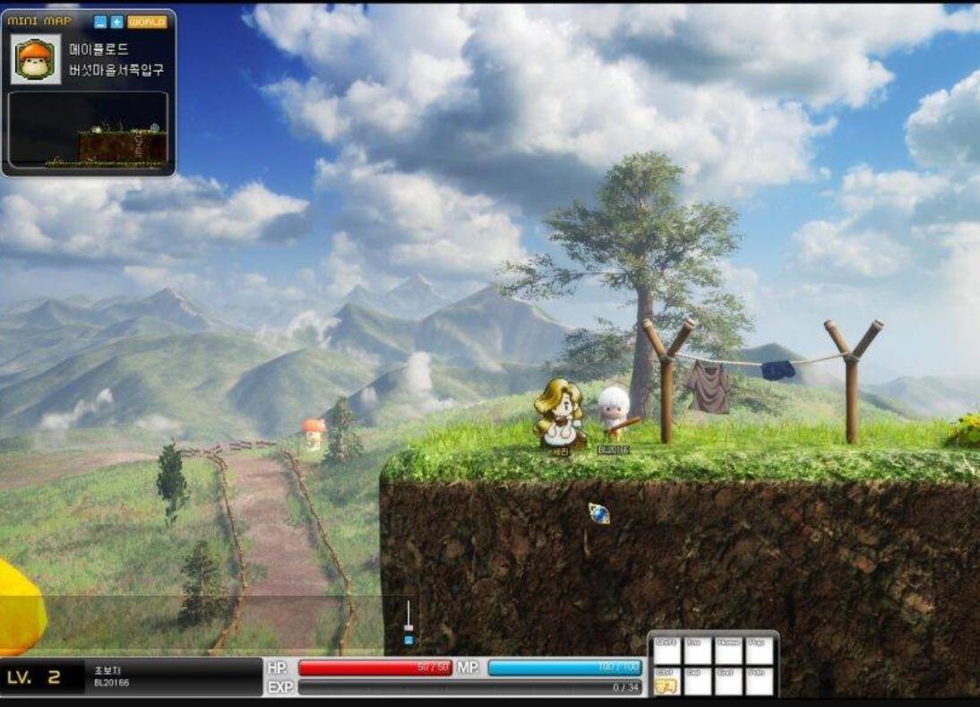 【冒险岛3D】经典怀旧游戏源码+一键即玩单机尝鲜版+端游源码+使用说明
