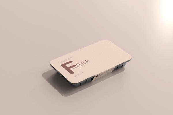小型食品容器模型样机607