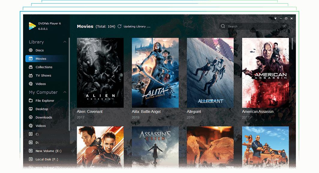 DVDFab Player v6.1.0.9 Ultra永久激活版本