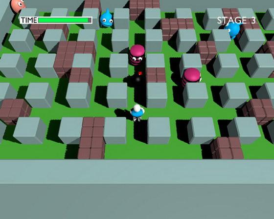炸弹人3D 免安装绿色版迅雷下载